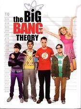 The Big Bang Theory. Las cuatro primeras temporadas. Inglés original y alemán.
