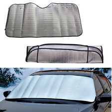 Portable Foldable Car Windshield Visor Cover Front Rear Block Window Sun Shade