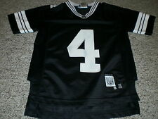 Green Bay Packers Brett Favre replica jersey #4 black & white youth small
