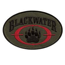 olive drab blackwater insignia tactical desert academi OD sew iron on patch