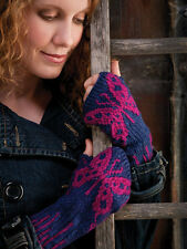 Fair Isle Stranded Colorwork  Glove Shawl Adult Children Knitting Pattern Book