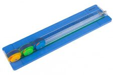 A4 Rotary '3 in 1' Paper Trimmer / Cutter - Straight / Perforated / Wavy Edge