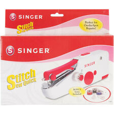 Singer Stitch Sew Quick Hand-Held Sewing Machine Device Mending Crafting