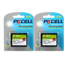 2X Cordless Phone Battery Replacement AA*3 2000mAh 3.6V for Panasonic HHR-P-P511