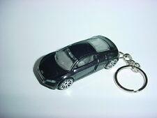 NEW 3D CHARCOAL AUDI R8 CUSTOM KEYCHAIN keyring key AWD SPEED BLING!