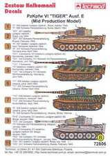 Techmod Decals 1/72 PzKpfw VI TIGER E MID PRODUCTION