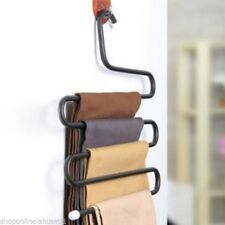 SOL Pants Hanger/Organiser. Metal in white or black color