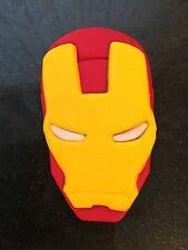 Hand Made Edible Iron Man Face