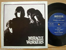 MIRACLE WORKERS - Same  E.P. Moxie ‎– M 1043 → Hung Up / Psycho / Out of my Head