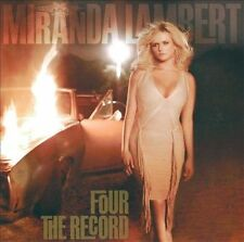 Four the Record by Miranda Lambert (CD, Oct-2011, Sony Music) NEW