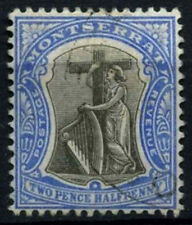 Montserrat 1903 SG#17, 2.5d Grey And Blue Used #D30016