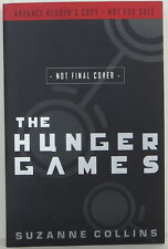 "SUZANNE COLLINS ""The Hunger Games"" ADVANCE REVIEW COPY"