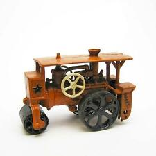 Steam Roller Road Grader Collectible Antique Replica Cast Iron Farm Toy Tractor