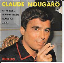 EP 4 TITRES--CLAUDE NOUGARO--JE SUIS SOUS / REGARDE MOI
