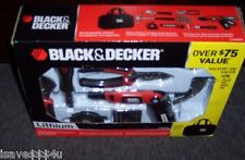 NEW 41 PC BLACK & DECKER PROJECT KIT 3.6V LITHIUM SCREWDRIVER ASST TOOLS & MORE