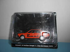 25.09.16.1 Renault 18 berline europe 1 R18 1979 Tour de France 1/43 NOREV