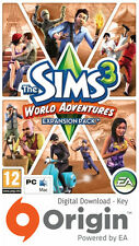 Les sims 3 world adventures expansion pack mac et pc origin key