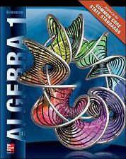Algebra 1 by McGraw-Hill Education  GOOD  HC ~ PA0