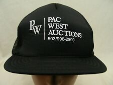 PAC WEST AUCTIONS - TRUCKER STYLE - ADJUSTABLE SNAPBACK BALL CAP HAT!