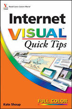 Kate Shoup Internet Visual Quick Tips Very Good Book