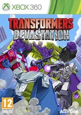 Transformers Devastation For PAL XBox 360 (New & Sealed)
