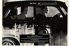 5/10/91 Pgn20 U2 : THE FLY SINGLE ADVERT 7X10""
