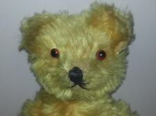 "Antique 14"" Teddy Bear, Golden Mohair"