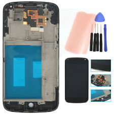 LCD Screen Display + Touch Digitizer Glass + Frame Assembly For LG E960 Nexus 4