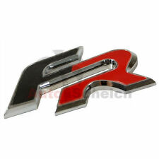 Seat FR emblème caractères inscription chrome autocollant logo CUPRA IBIZA ALTEA LEON