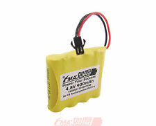 Ni-Cd AA 4.8V 900mAh Battery for radios Model Toys RC Car w/SM2P 4SB US