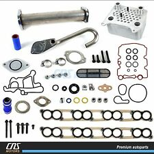 Upgraded Oil Cooler Kit & EGR Delete Kit w/ Gaskets Ford 6.0L E-350 F-250 F-350