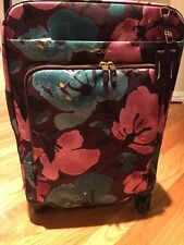 "New TUMI Super Leger 21"" 4 Wheel  Carry On Peony Floral MSRP $595"