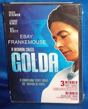 NEW INGRID BERMAN LEONARD NIMOY WOMAN CALLED GOLDA MADE TV MINISERIES DVD 1982