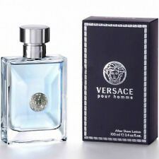 Versace Pour Homme Men Aftershave Lotion Splash 100ml 100% Genuine New In Box