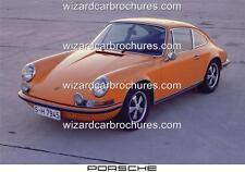 1970 PORSCHE 911S 2.0 A3 POSTER AD SALES BROCHURE ADVERTISEMENT ADVERT