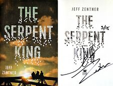 Jeff Zentner~SIGNED & DATED~The Serpent King~1st Edition/1st Printing