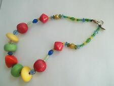 "TERESA GOODALL necklace,great pre-own cnd,16""long,"