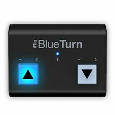 IK Multimedia iRig blueturn Bluetooth Page Turner per i dispositivi iOS & Android