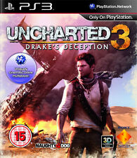 Uncharted 3 Drakes Deception ~ PS3 (Like New in Condition)