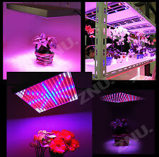 BIG sale 225LED Grow Light Lamp Blue Red Yellow White Quad-band Plant Panel 110V