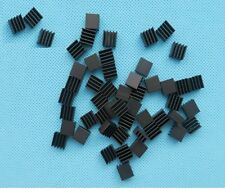 20PCS Heat sink 8.8x8.8x5mm High quality MINI HeatSink Color Black NEW