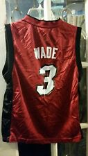 Dwyane Wade Miami Heat Jersey #3 Youth M (10-12) Marquette Golden Eagles Dwayne