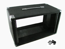 "Procraft 6U 12"" Deep Equipment Rack 6 Space - Made in the USA - With Rack Screws"