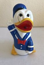 VTG Walt Disney Productions Donal Duck Bank Chalkware Made In Japan