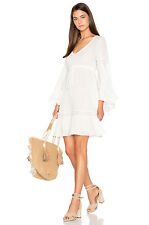 BNWT BCBG MAX AZRIA WHITE JACKLEEN GORGEOUS PEASANT DRESS WHITE SIZES XXS AND XS