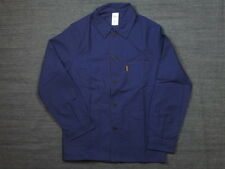 Le Laboureur `Bleu de Travail` French Work Chore Jacket Navy Size 3 L/XL