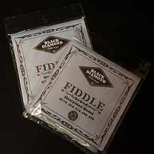 2 Sets Black Diamond Silver Plated Wound FIDDLE Strings Bluegrass Series N719