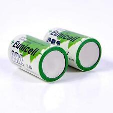 2 X CR2 DRCR2 CR-2 CR15270 Bulk 3V Heavy Lithium Photo Battery US Seller!