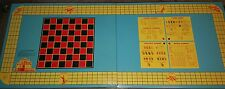 """Vintage 1960s All-Luminum Steeplechase Metal Folding Game Table Poker 24"""" X 60"""""""