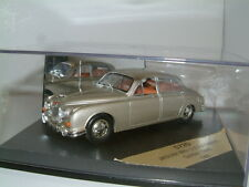 1/43 VITESSE, JAGUAR MKII 3.8. 1960 IN GOLDEN SAND, RHD, DISC WHEELS